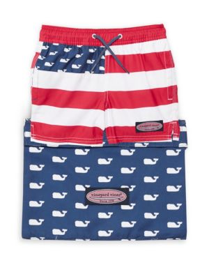 Little Boy's & Boy's Chappy Swim Trunks