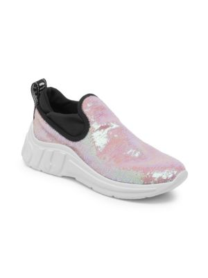 Sequin Pull-On Sneakers