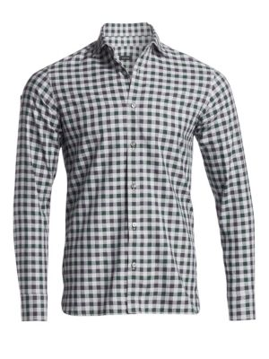 Casual Check Woven Cotton Shirt