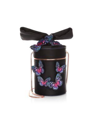 Bonnie Butterfly Cylinder Crossbody Bag