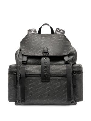 BALLY Crew Logo Backpack