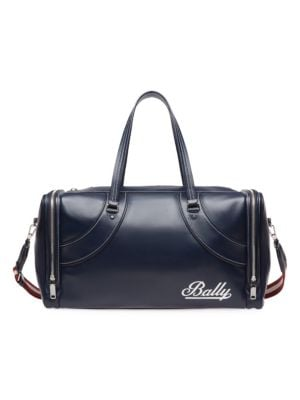 BALLY Fred Leather Duffel Bag