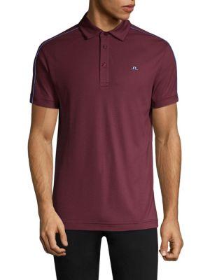 J. LINDEBERG Golf Regular-Fit Stripe Polo