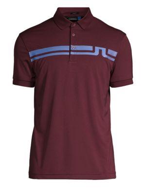 J. LINDEBERG Golf Eddy Slim-Fit Logo Polo