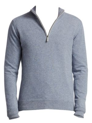 COLLECTION Half-Zip Cashmere Sweater