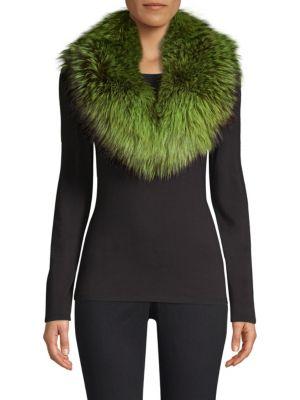 POLOGEORGIS Fur Collar