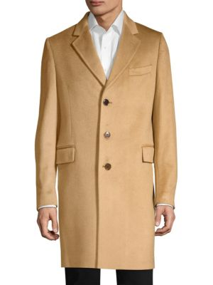 Tailored Cashmere Overcoat