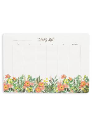 Honey Dew Weekly Desk Pad
