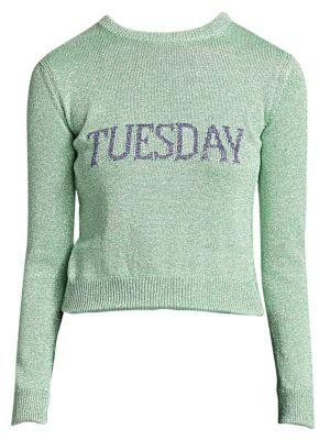 Rainbow Week Capsule Days Of The Week Tuesday Sweater