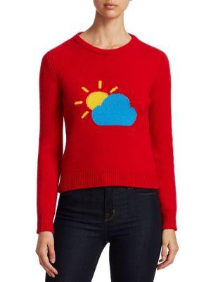 Rainbow Week Capsule Days Of The Week Partly Cloudy Emoji Sweater