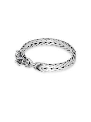 Legends Naga Diamond Pavé & Sapphire Dragon Eyes Bracelet
