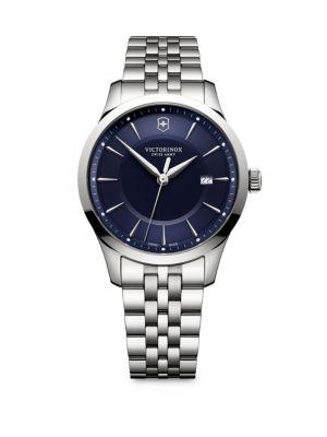 VICTORINOX SWISS ARMY Alliance Stainless Steel Round Bracelet Watch