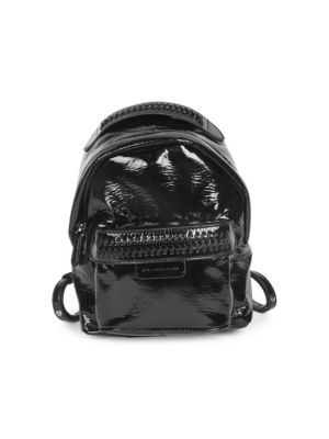 Mini Patent Backpack