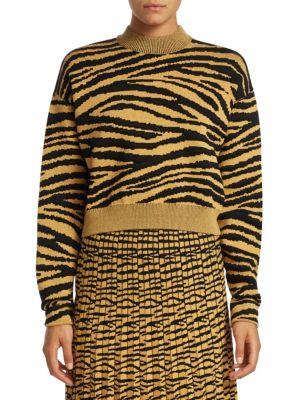 PROENZA SCHOULER Tiger Jacquard Sweater