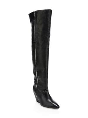IRO Liam Leather Knee-High Boots