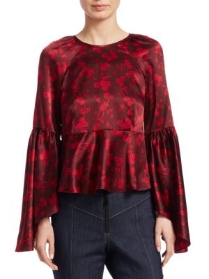 Avalon Floral Silk Top