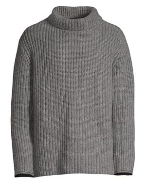 3.1 PHILLIP LIM Long Sleeve Chunky Sweater