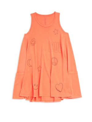 Little Girl's & Girl's Elsa Tank Dress