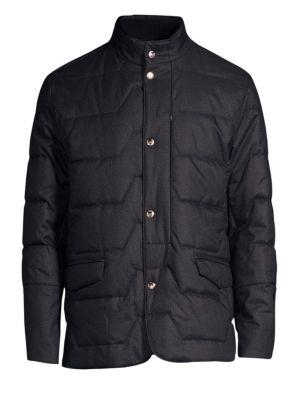 CORNELIANI Quilted Puffer Jacket