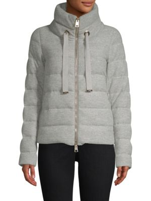 Glow Wool Puffer Coat