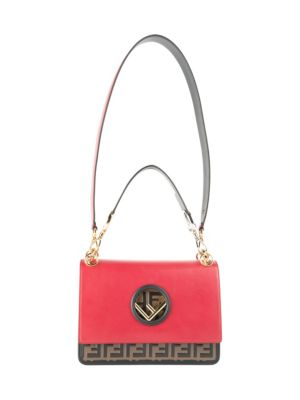 Bicolor Shoulder Bag