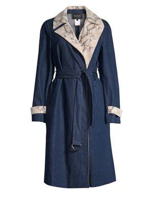 Tandra Denim Trench Coat