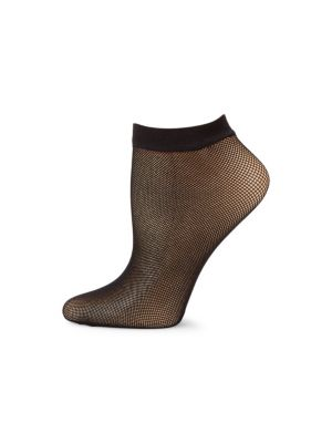 Netlace Micro Fishnet Ankle Socks