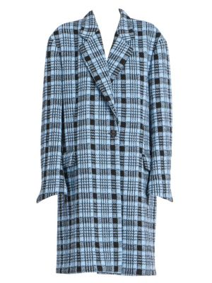 Oversized Check Jacket