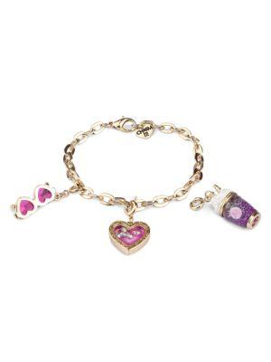 Unicorn Smoothie Charm Bracelet Set