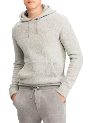 RALPH LAUREN Cashmere-Blend Hoodie Sweater