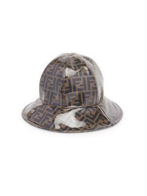 Double F Cloche Hat by Fendi