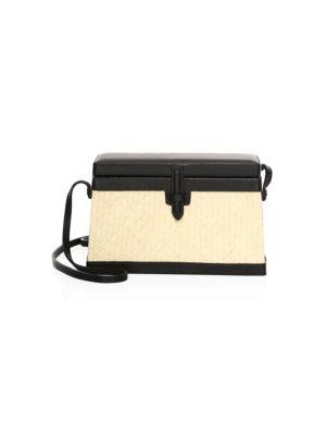 Square Leather Crossbody Bag