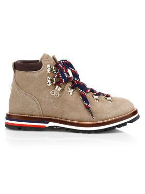 Sparkle Suede Ankle Hiking Boots