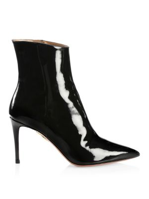 Alma Patent Point Toe Boots