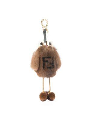 Fendi Witch Mink & Fox Fur Bag Charm