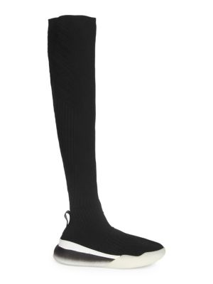 OVER-THE-KNEE STRETCH SNEAKERS BOOT