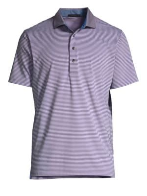 GREYSON Choctaw Striped Polo Shirt
