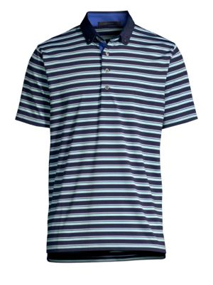 GREYSON Hopi Striped Polo Tee