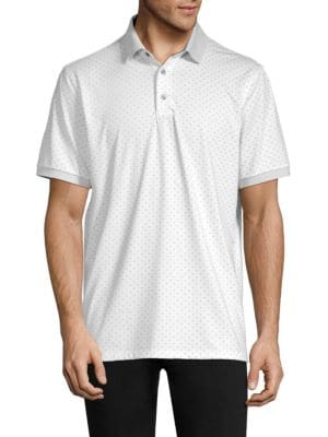 GREYSON Icon Dotted Polo Shirt