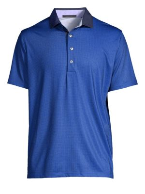 GREYSON Houndstooth Polo Shirt