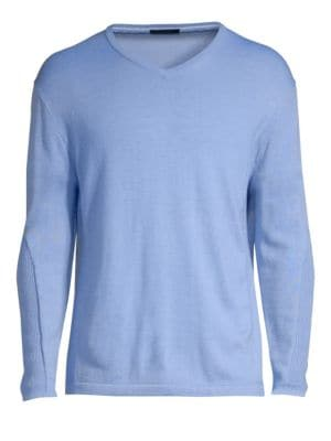 GREYSON Guide Merino Wool-Blend Pullover Sweater