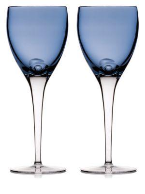 W Sky Set of Two Wine Glasses
