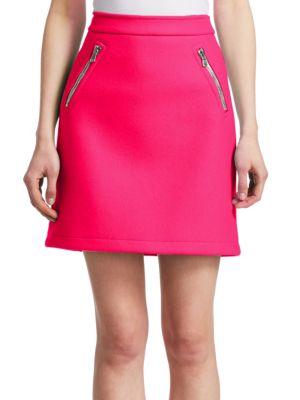 Zip Pocket Mini Skirt