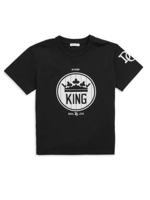 Little Boy's Cotton King Tee