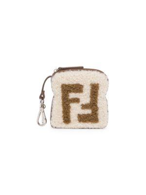 Ff Shearling Toast Charm by Fendi