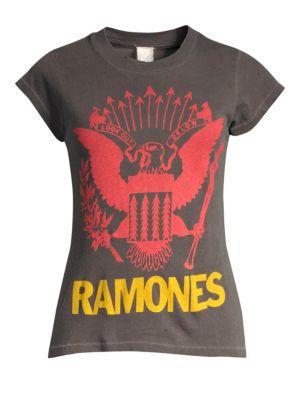 MADEWORN Ramones Crew T-Shirt
