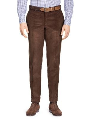 Slim-Fit Corduroy Separate Trousers