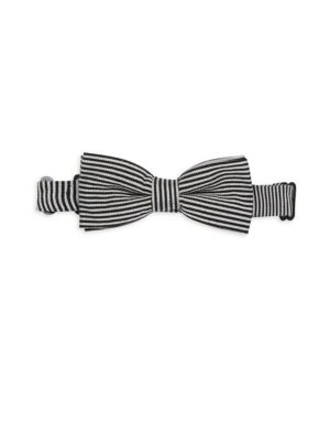 APPAMAN | Boy's Stripe Bow Tie | Goxip