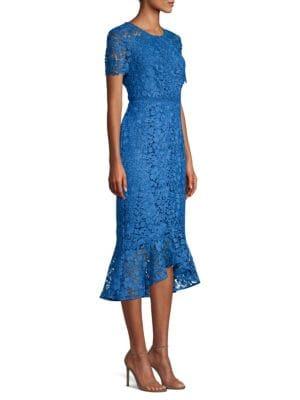 Edgecombe Lace Hi Lo Dress by Shoshanna
