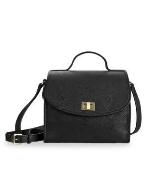 Amelie Leather Crossbody Bag